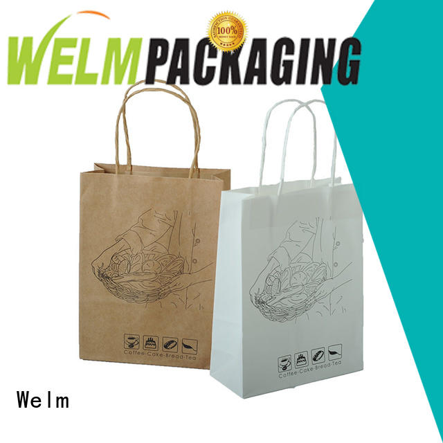 brown custom paper bags die shopping