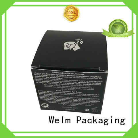 Welm cosmetic packaging box full round tube for sale