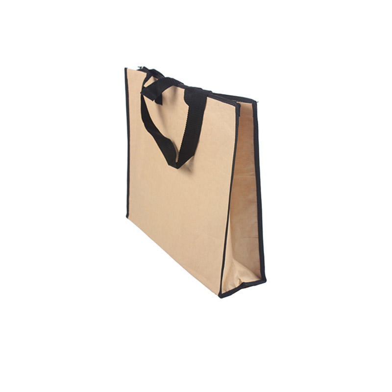 latest brown paper craft bag design for business for gift shopping-3