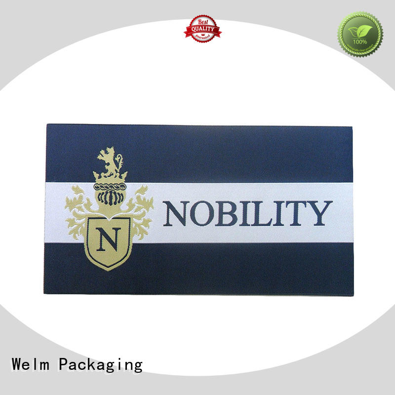 Wholesale print self adhesive labels layer Welm Brand