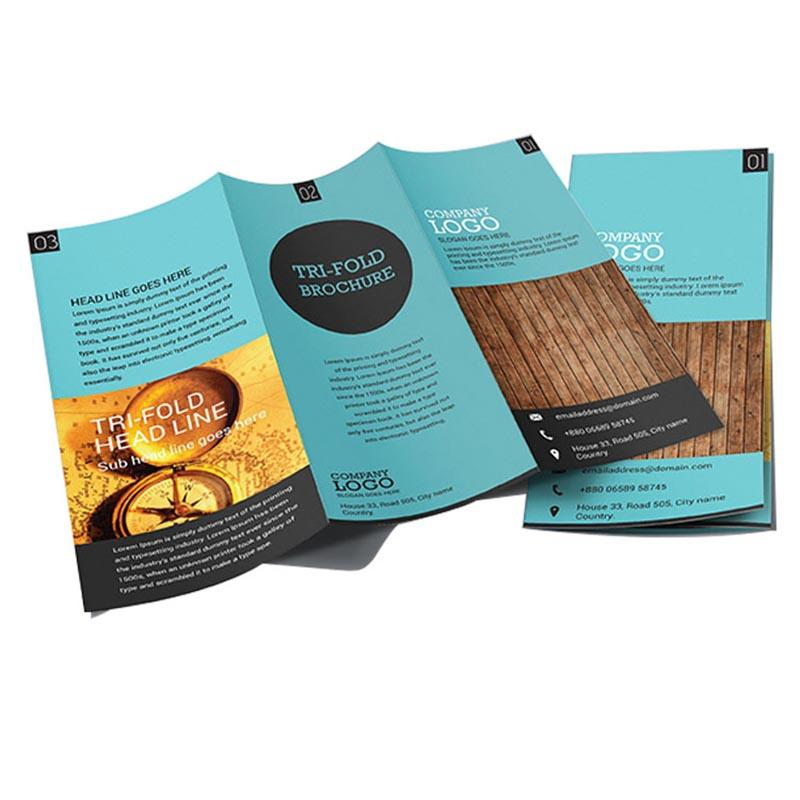 Custom Bulk Company Profile Brochure Pamphlet Printing