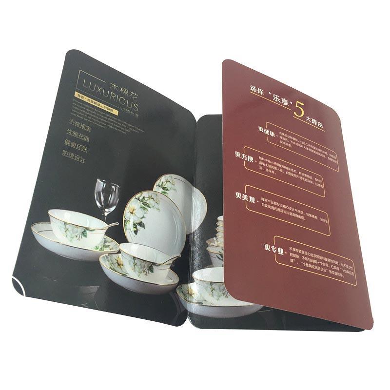 Coated Paper Printing 3 Fold Manual Brochure