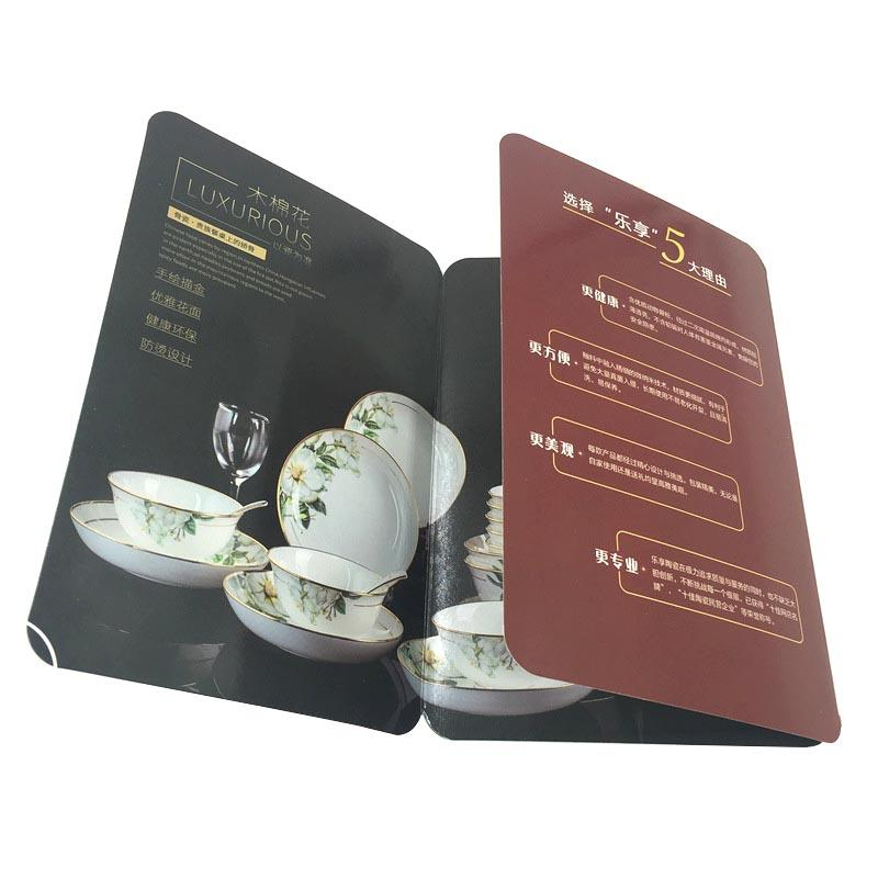 Coated Paper Printing 3 Fold Manual Brochure
