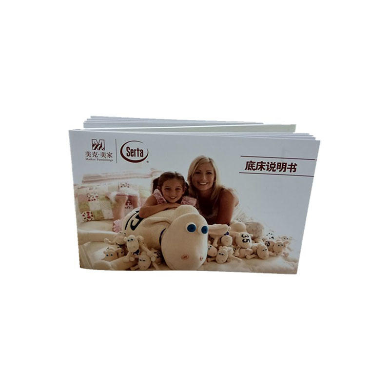 Custom Brochure Printing Paper Instruction Manual