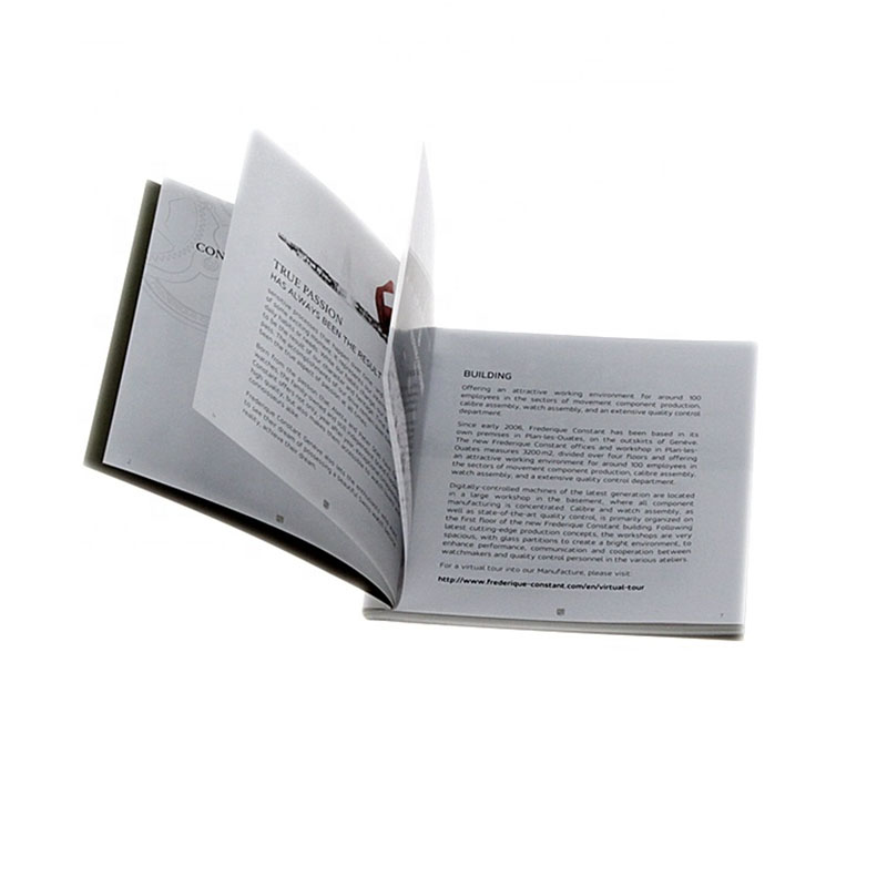 paper brochure manufacturer for business Welm-7