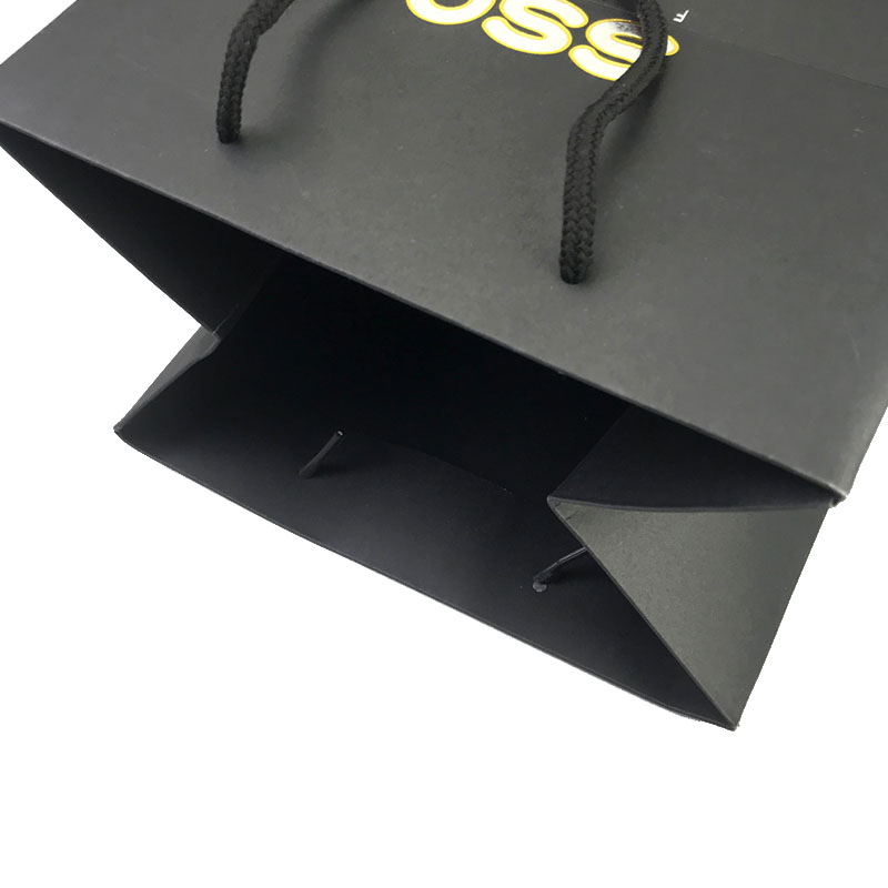 popcorn paper bags wholesale with die cut handle for shopping-5