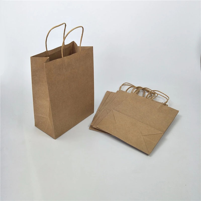 Welm paper bags wholesale with gold logo print for shopping-10