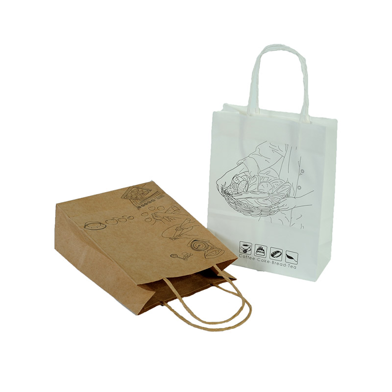 Welm dried printed paper lunch bags logo for sale-5