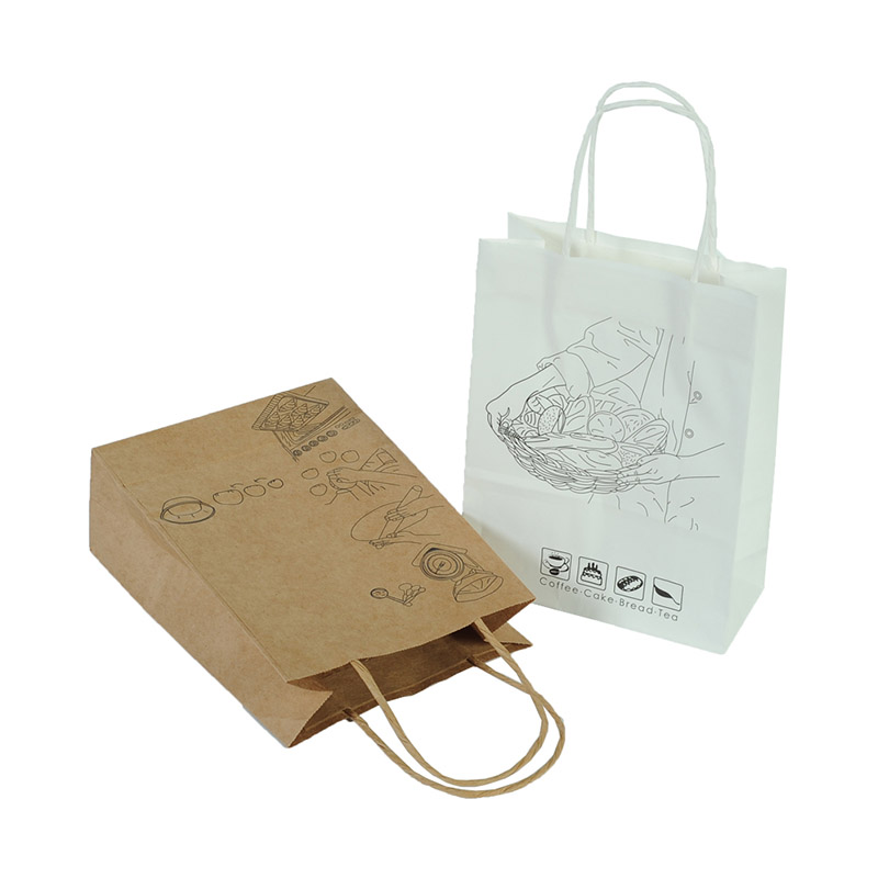Welm dried printed paper lunch bags logo for sale-6
