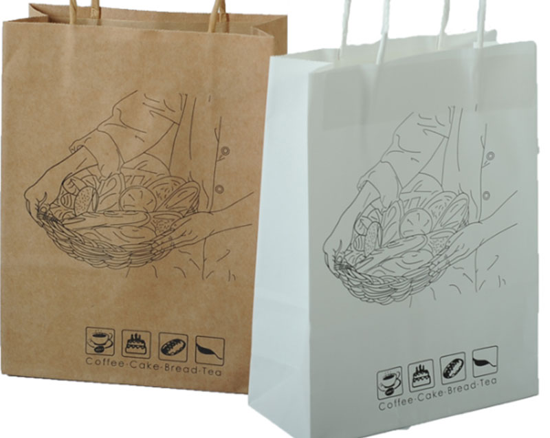 Welm dried printed paper lunch bags logo for sale-8