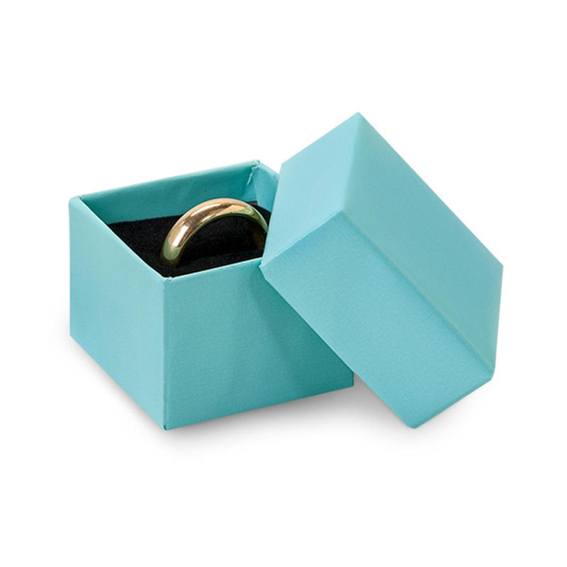 Custom printing paper packaging jewellery box for necklace