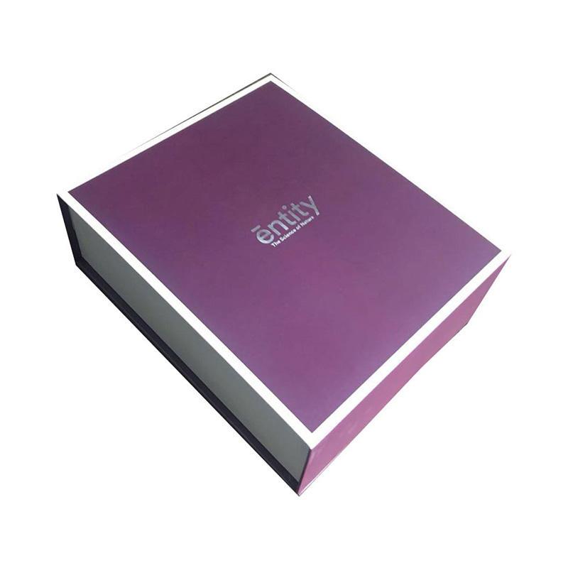 Custom printing folding magnetic jewelry gift  box
