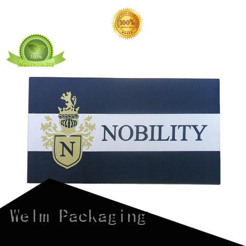 Welm sticker label maker private label for bottle