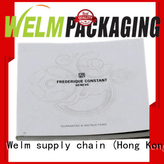 Welm bifold brochure of watches for sale