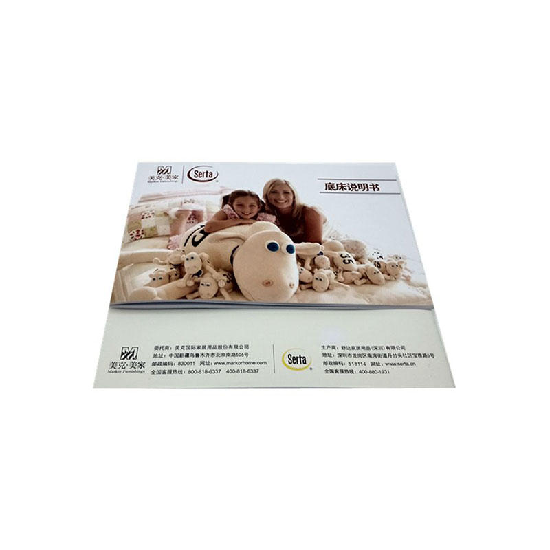 Custom Brochure Printing Paper Instruction Manual-2