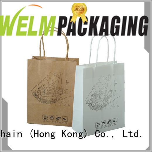 dried paper bag manufacturers logo for sale
