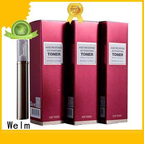 Welm Brand customized box lipstick packaging silver supplier