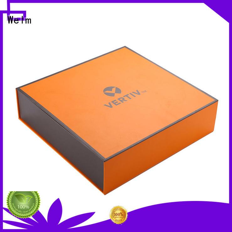gift box OEM magnetic box Welm