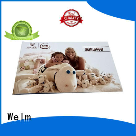 profile business brochure printing coated Welm Brand