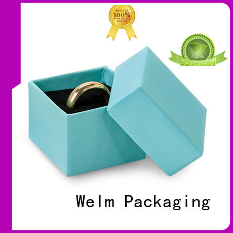 Wholesale box small jewelry gift box Welm Brand