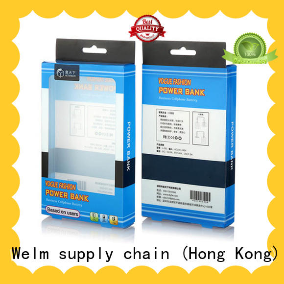 color merchandise packaging supplies glossy with pvc window for home