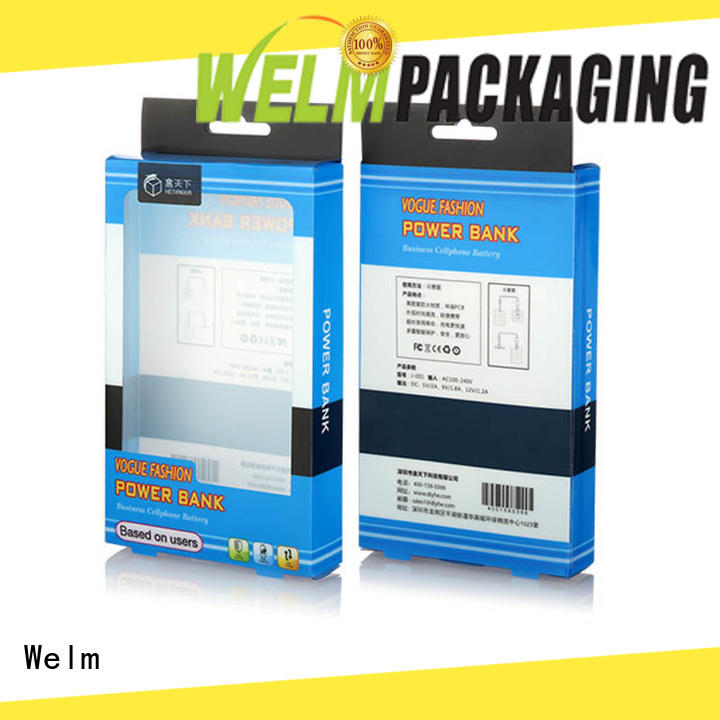 custommade premium packaging boxes packing company for power bank