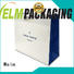 Welm paper carry bag with gold logo print for sale