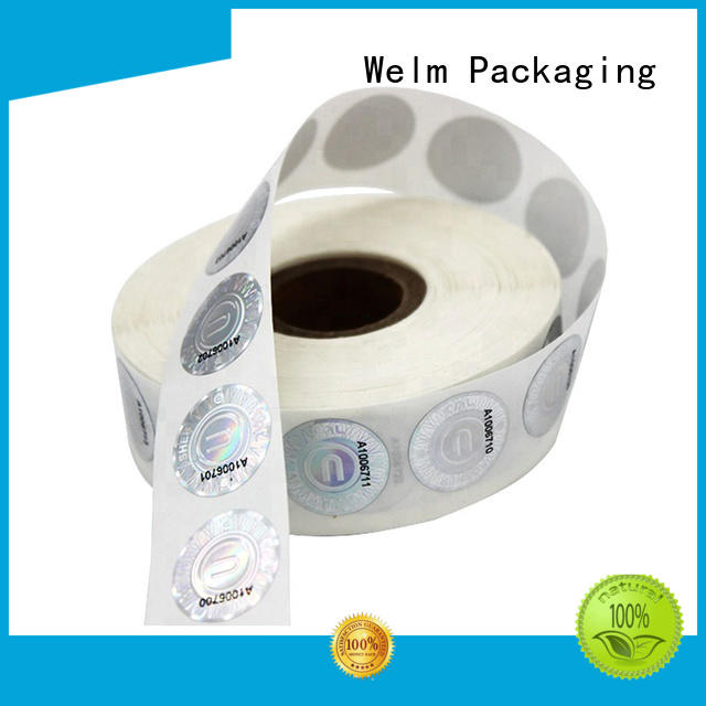 stcikers self adhesive labels labels personalized Welm Brand