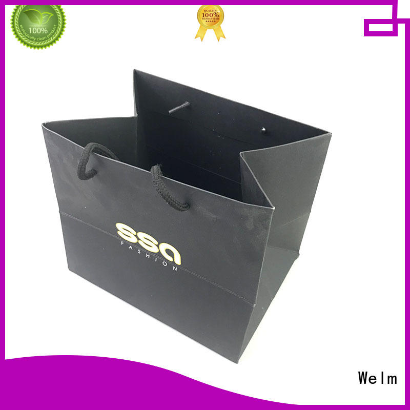 Welm craft buy paper bags with handles supply for shopping