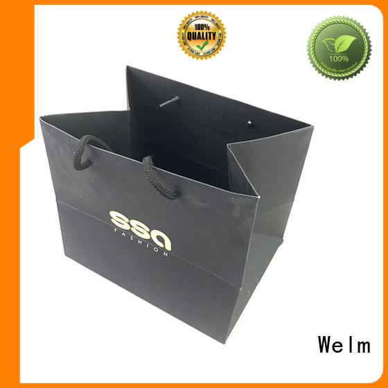 Welm Brand shopping printing custom small paper bags