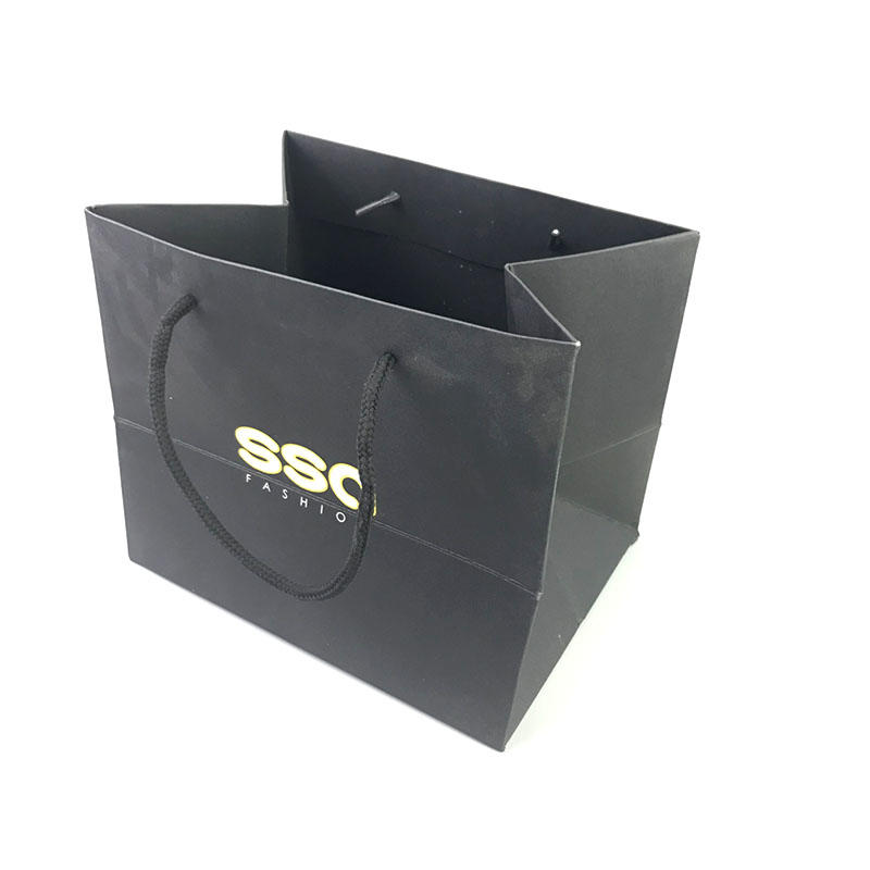 popcorn paper bags wholesale with die cut handle for shopping-2