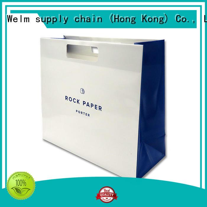 waterproof pink kraft paper bags printing supply for sale