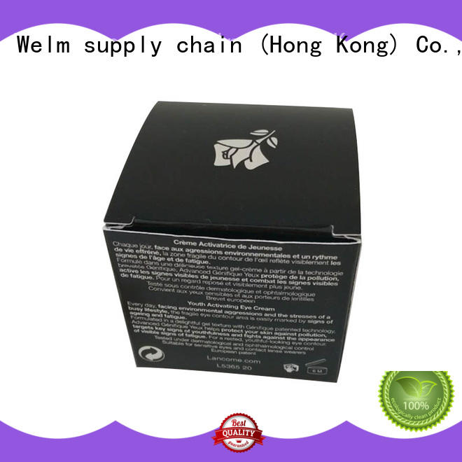 Welm cosmetic packaging box online for tempered glass packing