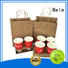 Welm pp printed paper bags with die cut handle for gift shopping