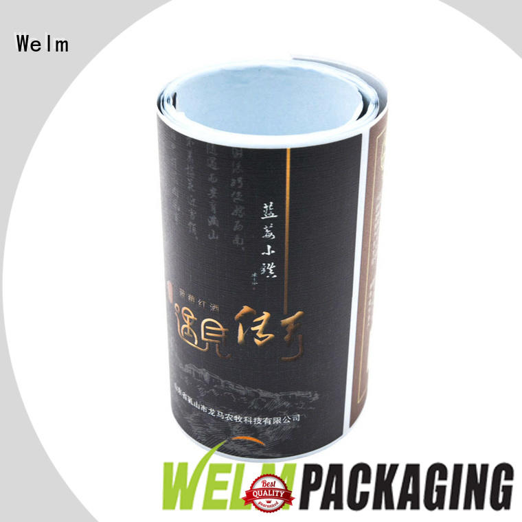 product label stickers for bottle Welm
