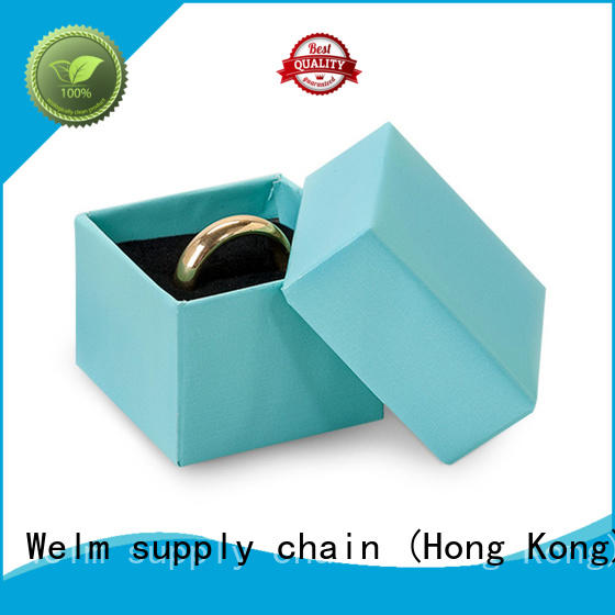 Welm fashion jewelry gift boxes bulk window for food
