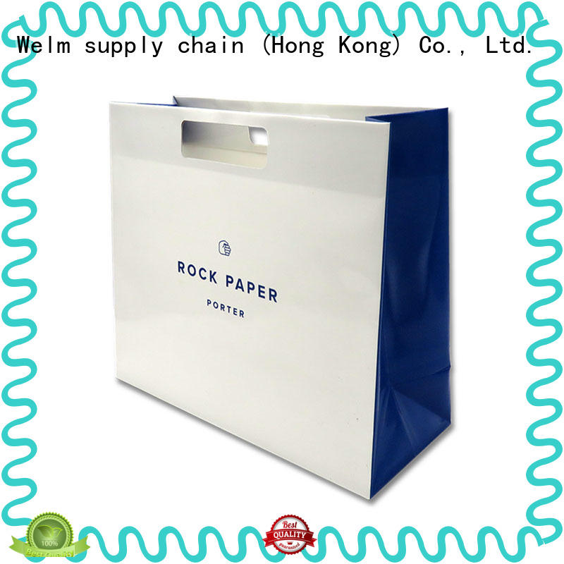 Welm waterproof laminated paper bags company for sale