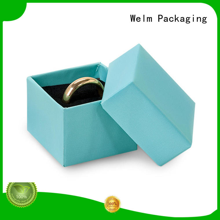 Welm cardboard jewelry boxes manufacturer for ear ring