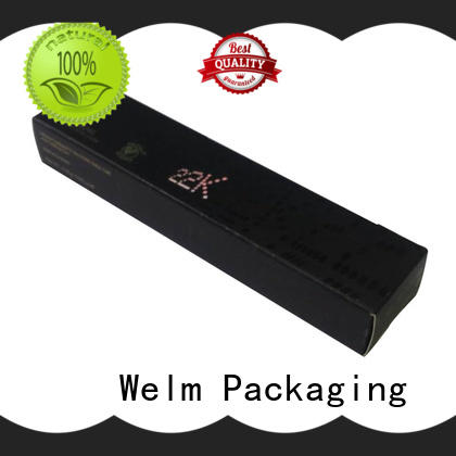 Welm custom cosmetic boxes manufacturer for tempered glass packing