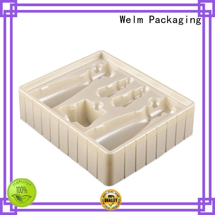 Welm plastic blister packaging tray for hardware tool