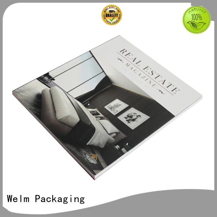 Welm cheap brochure printing of watches for sale