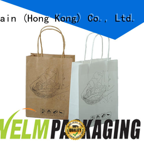 Welm hot sale small paper bags food for sale