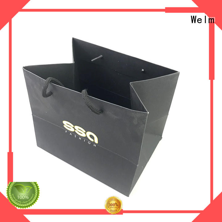 popcorn paper bags wholesale with die cut handle for shopping