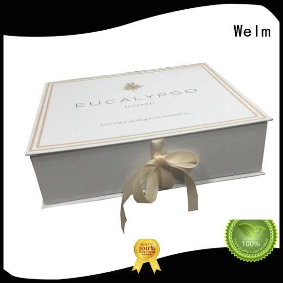 wholesale magnetic closure gift box high end online Welm