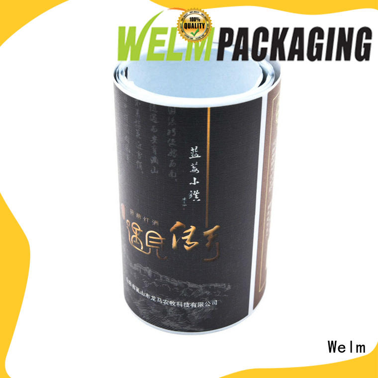 Welm best print own labels factory for sale