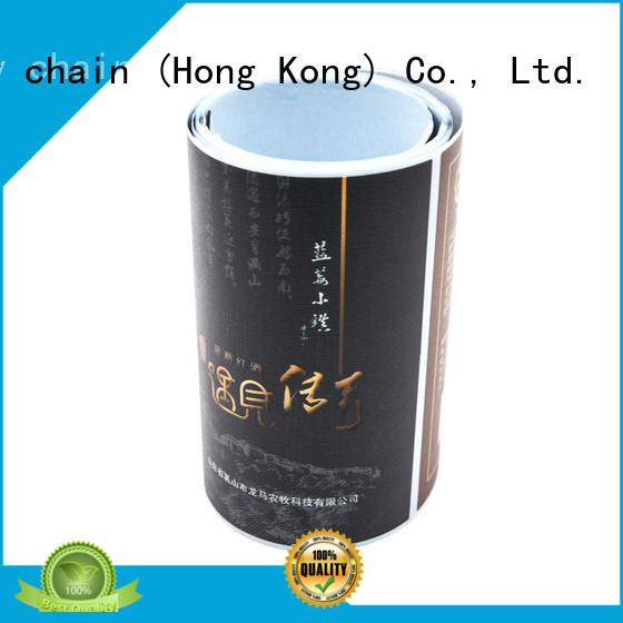 Welm Brand name three brand layer custom sticker labels