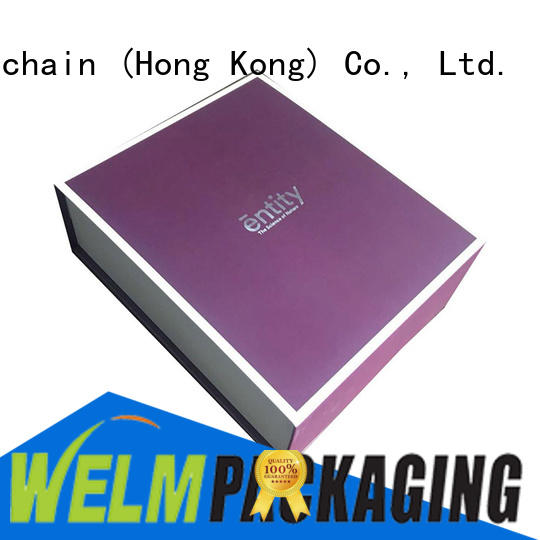 Welm jewelry gift boxes wholesale logo for food