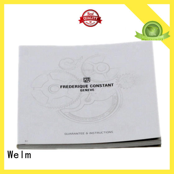 paper brochure manufacturer for business Welm