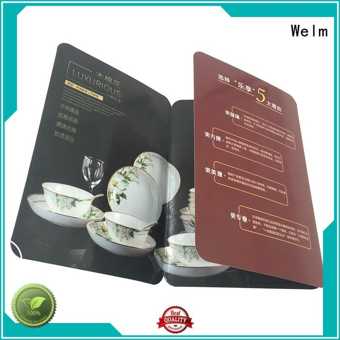 Quality Welm Brand pamphlet printing paper printing
