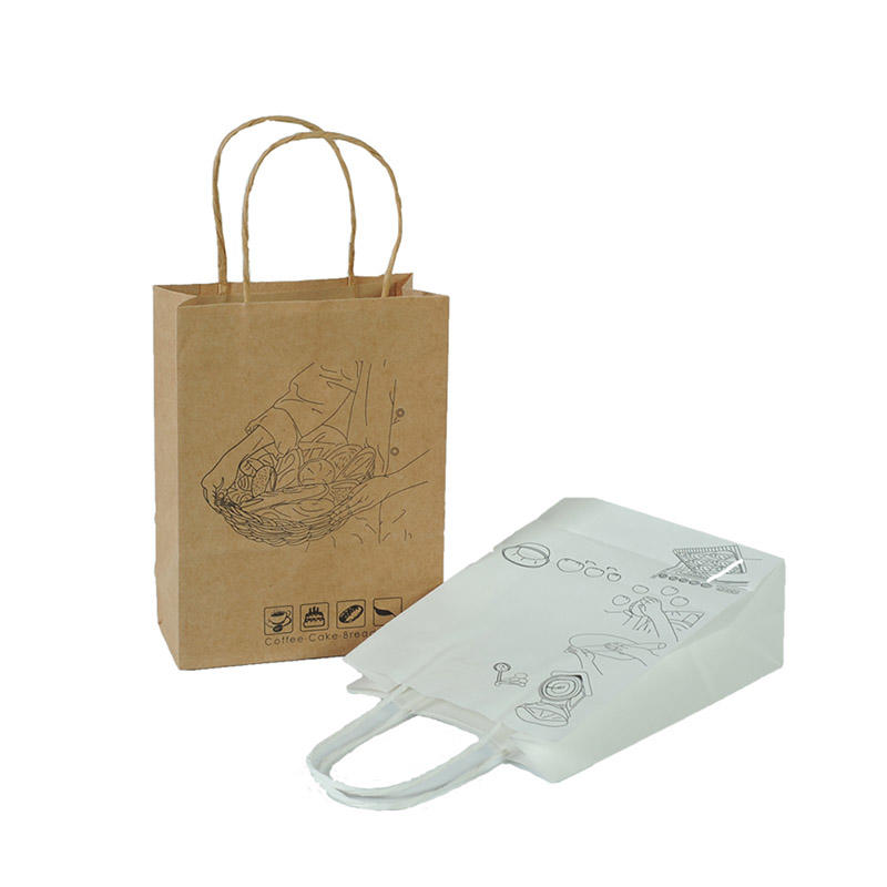 Welm dried printed paper lunch bags logo for sale-3